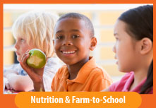 Image button: Nutrition & Farm to School