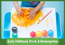Image button: Early Childhood, Pre-K, & Kindergarten