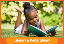 Image button: Literacy & Media/Liibrary