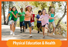 Image button: Physical Education & Health