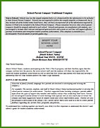 Thumbnail image of School-Parent Compact   Traditional Template​